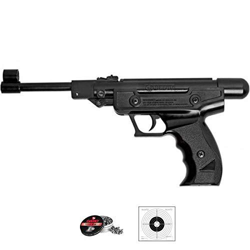 BLOW H-01 (Muelle | Pack Pistola de balines (perdigones Bolas de Acero BB s). Arma de Aire comprimido Muelle Calibre 4,5mm - 3.4 Julios