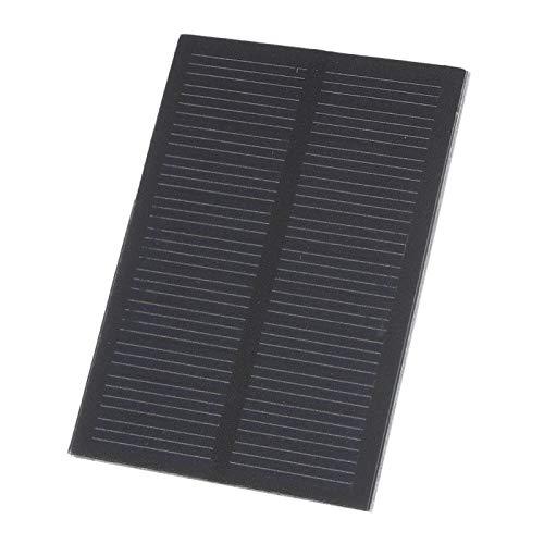 Qqmora Pet 0.5W 5.5V 0.5W 5.5V Cargador Solar 3pcs Cargador de Panel Solar al Aire Libre Mini portátil liviano para teléfonos celulares, iPhone, iPad, Android