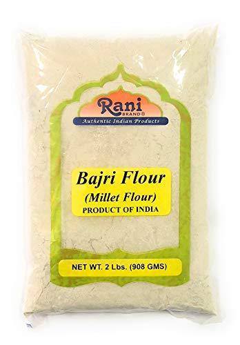 Rani Bajri Flour (Finger Millet) 2 Pound, 2lbs (32oz) Bulk ~ All Natural | Vegan | Gluten Free Ingredients | NON-GMO | Indian Origin