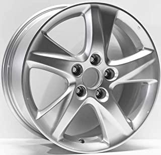 New 17 inch Replacement Alloy Wheel Rim compatible with 2009-2014 Acura TSX Painted Silver 71781