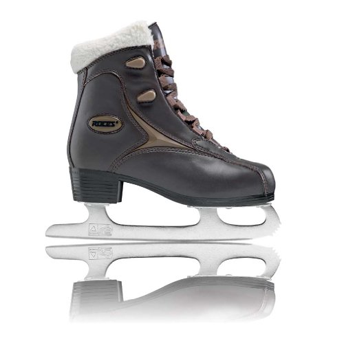 Roces Women's Fur Ice Skate Superior Italian Style 450540 00010 (Brown,9)