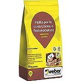 webermix pratico Malta pratica di cemento pronta all'uso, grigia, 5 kg