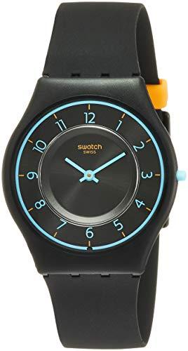 Swatch SFB147 - Reloj de cuarzo con esfera negra