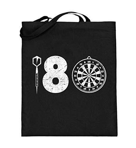 Chorchester 180 Perfekt für Darts Fans - Jutebeutel (mit langen Henkeln)