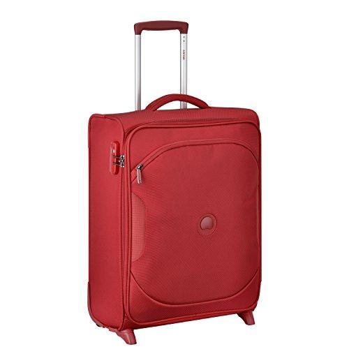 DELSEY PARIS U-LITE CLASSIC 2 Equipaje de mano, 55 cm, 40 liters, Rojo (Rouge)