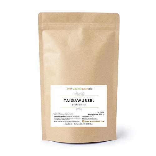 VH3 Taigawurzel Kräuter Tee 200g - Abwehrkräfte, Energie, Leistungsfähigkeit
