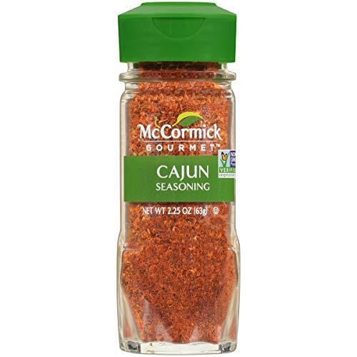 McCormick Gourmet Collection Cajun Seasoning, 2.25-Ounce Unit