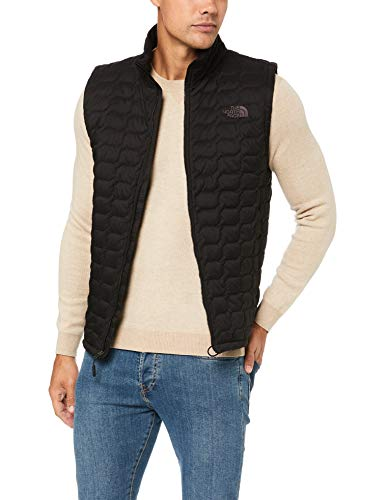 The North Face Men's Thermoball Vest - TNF Black Matte - S