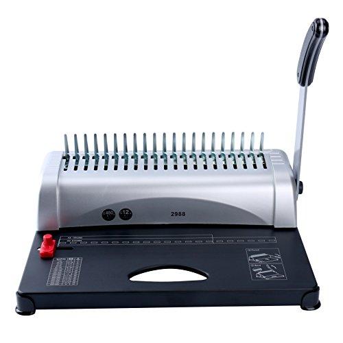 YaeKoo 21-Hole 450 Sheets Paper Comb Punch Binder Binding Machine...
