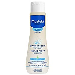 Mustela Gentle Shampoo, Tear Free Baby Shampoo with Natural Avocado Perseose
