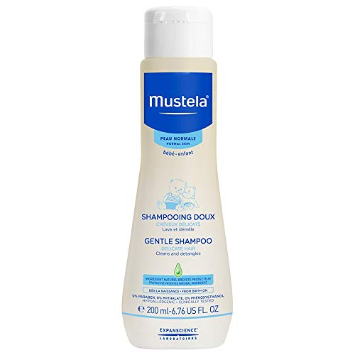 Mustela Baby Gentle Shampoo with Natural Avocado – Hair Care for...