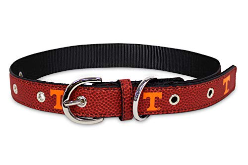 Pets First NCAA Tennessee Volunteers Premium Dog Collar, Limited Edition, Size Large. Best & Strongest Heavy-Duty Dog Collar!