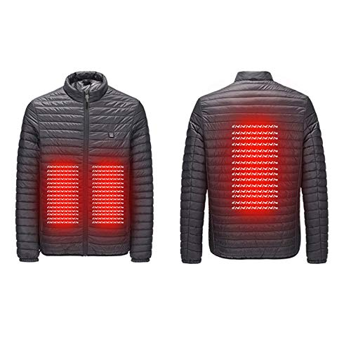 profesional ranking Chaqueta de algodón con calefacción eléctrica y espalda abdominal inteligente USB … elección