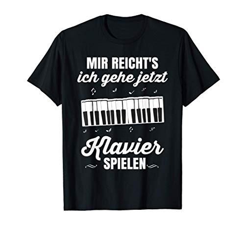 Klavier Geschenk Konzert Pianist Orchester Flügel Piano T-Shirt