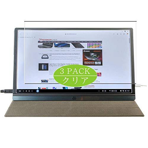 VacFun 3 Piezas Claro Protector de Pantalla, compatible con M MEMTEQ Type-C Portable Monitor Z1 15.6', Screen Protector Película Protectora(Not Cristal Templado)