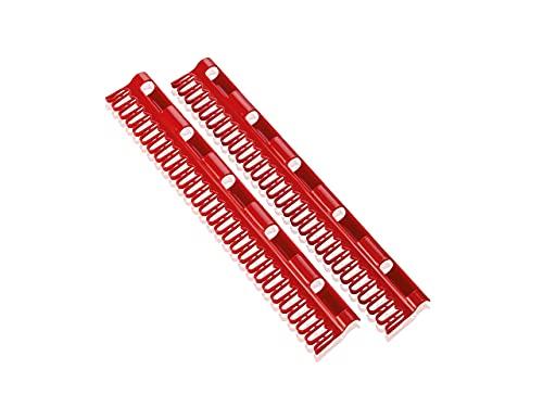 Leifheit Kleinteilehalter-Set für Die Pegasus Modelle 6923-Set de 2 colgadores, Espacio para 27 Prendas pequeñas, Compuesto, Multicolores, 7.5x2x39 cm, 2 Unidades