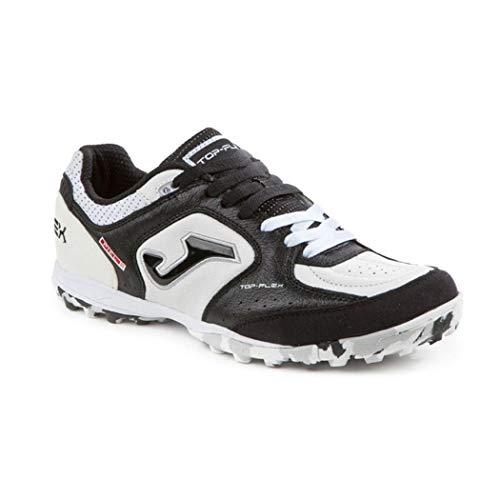 Joma Topflex 701 gazon - noir blanc - chaussures de soccer pour hommes - TOPW.702.TF (43.5)