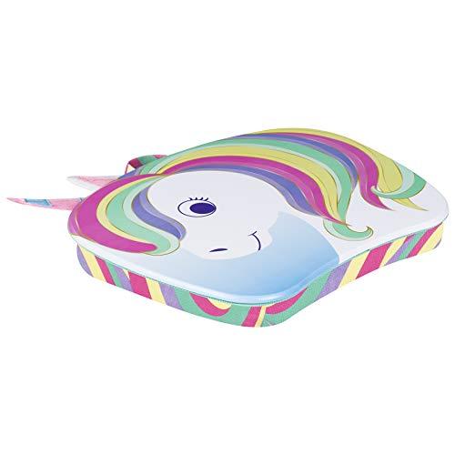 LapGear Lap Pets Lap Desk for Lil' Kids - Unicorn - Fits up to 11.6 Inch laptops - Style No. 46747,14. 5' X 11. 3'
