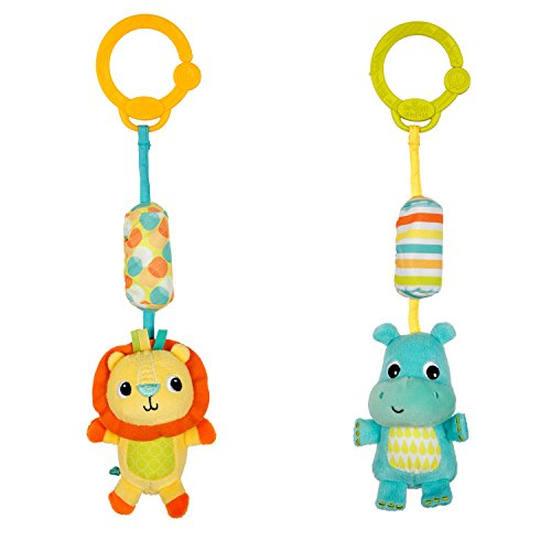 Bright Starts Jouets à emporter Peluches Chime Along Friends