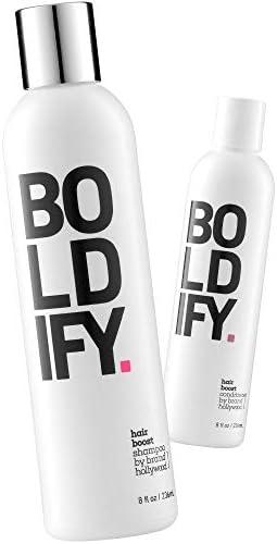 Boldify Shampoo Boldify Conditioner Bundle Natural Hair Growth Anti Hair Loss Formula Vitamin product image