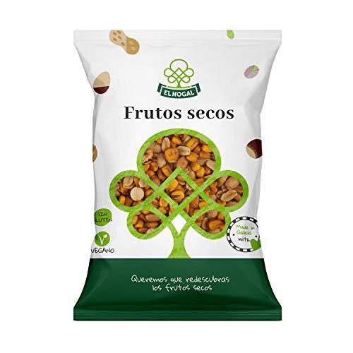 EL NOGAL Frutos Secos Cóctel de Frutos Secos con Maíz Bolsa, 1000 G