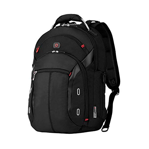 Wenger 600627 GIGABYTE 15.4 Inch MacBook Pro Backpack, Anti-Scratch Lining with iPad/Tablet/eReader Pocket in Black {17 Litre}