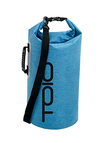 TOIO Mens WATERPROOF SLOOP DRY BAG 30L Universal Light blue 65x28cm Ultralight 100% 600D polyester TPU