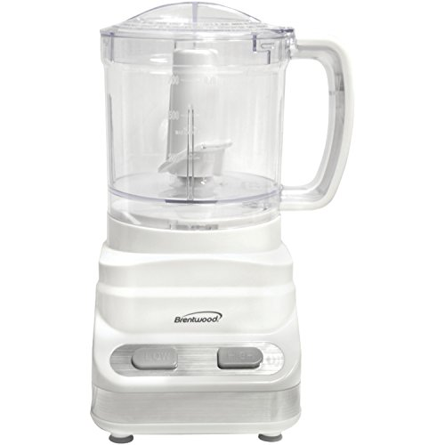 Brentwood Mini Food Processor, 3-Cup, White