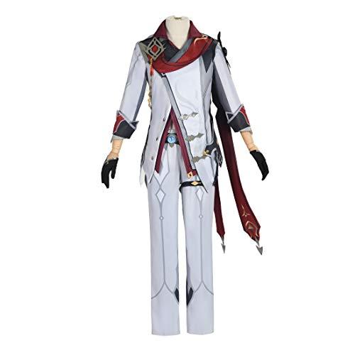 DUMU Genshin Impact Cosplay, Tartaglia Genshin Impact Cosplay Kostüm, Halloween Karneval Cosplay Kostüm Rollenspiel Kleidung Outfit , M