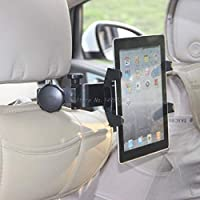 FENGYI Universal Car Vehicle Seat Back Headrest Mount Rotatable Stand Holder for PC Tablet Phone