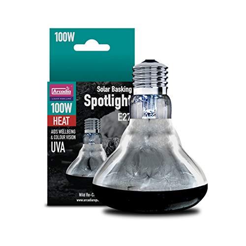 Arcadia SBS100 Basking Solar Lamp UVA...