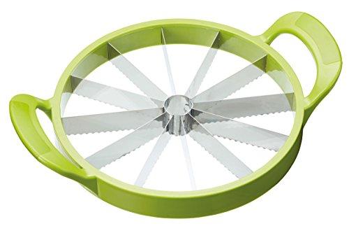 Kitchen Craft Melonenschneider in grün, Kunststoff, 28 x 18 x 18 cm