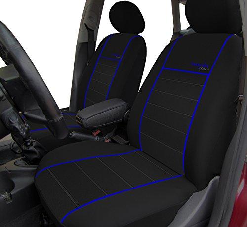 Autositzbezüge, Schonbezüge Trend Line Passend für Cadillac - Universal Stoffsitzbezug Zum Sonderpreis!!! in Diesem Angebot Blau.