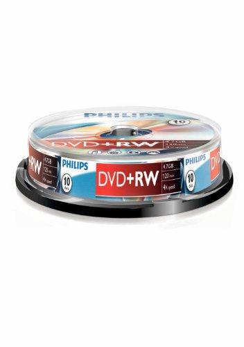 Philips DVD+RW DW4S4B10F - DVD+RW vírgenes (DVD+RW)