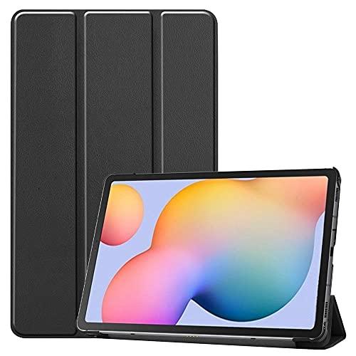 Funda de piel para Samsung Galaxy Tab S6 Lite P610 P615 de 10,4', color negro y Samsung