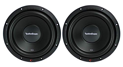 2 New ROCKFORD FOSGATE R2D2-10 1000W 10' 2-Ohm Car Audio Subwoofers Subs R2D210