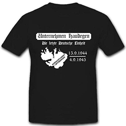 Unternehmen Wettertrupp Haudegen Arktis - T Shirt #3298, Größe:XL, Farbe:Schwarz