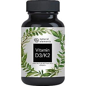 naural elements D3 K2 Vitamin D3