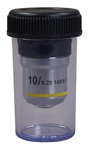 OMAX 10X Achromatic Objective Lens for Compound Microscopes