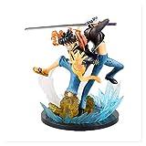XIAOGING Anime One Piece Zero Luffy Gear 4 Trafalgar Ley 5th Anniversary Edition GK Caja Figura de a...