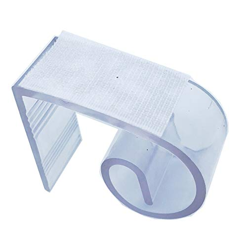 25 stücke 3-4,5 cm Transparent Kunststoff Starke Hochzeit Bankett Tisch Sockelleisten Home Office Produkt Tabelle Organizor