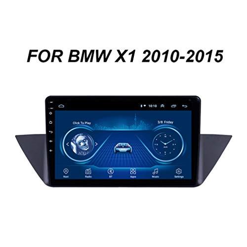 10.1 Pollici HD Touch Screen Video Player Android 9.0 GPS Navigazione Stereo Autoradio, Per BMW X1 E84 2010-2015 Supporto WIFI/BT/Mirror Link/DVR/Bluetooth/USB (Presa EU),Wifi: 1+16g