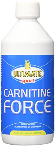 Ultimate Italia L-Carnitina in Forma Liquida - gusto Limone - 500 ml