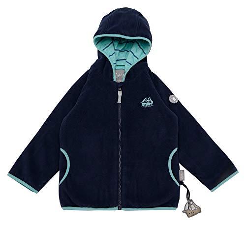 Sigikid Jungen Fleece, Mini Jacke, Blau (Dress Blue 235), (Herstellergröße: 128)