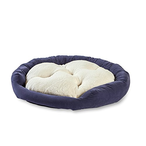 Happy Hounds Murphy Donut Hundebett, mittelgroß, 81 cm, Denim