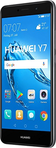 Huawei Y7 SIM Doble 4G 16GB Negro, Gris - Smartphone (14 cm (5.5 ), 1280 x 720 Pixeles, Plana, 16:9, Multi-Touch, Capacitiva)