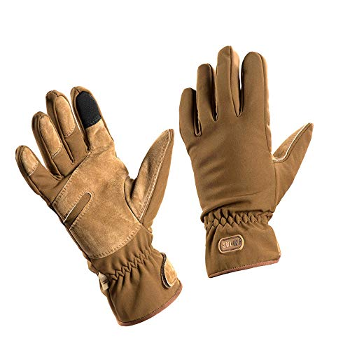 M-Tac Winter Tactical Water Resistant Gloves Cold Weather Insulation Layer (Coyote, S)