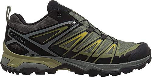 Salomon Shoes X Ultra, Chaussures de randonnée Homme, Gris (Castor Grey/Beluga/Green Sulphur), 42 EU
