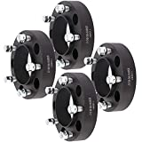 Aintier 4X 1.5 inch 5x150mm to 5x150mm 14x1.5 hubcentric Wheel Spacers 5 Lug Fit for Toyota Land Cruiser for Toyota Sequoia for Toyota Tundra