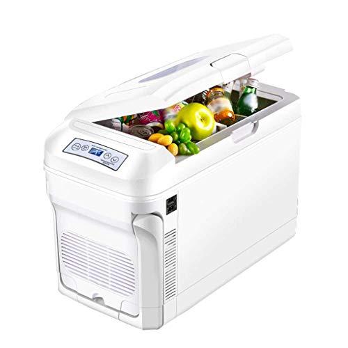 NXYJD Mini refrigerador y Calentador de refrigerador - for hogar, Oficina, automóvil, Dormitorio o Bote - Compacto y portátil - Cables de alimentación